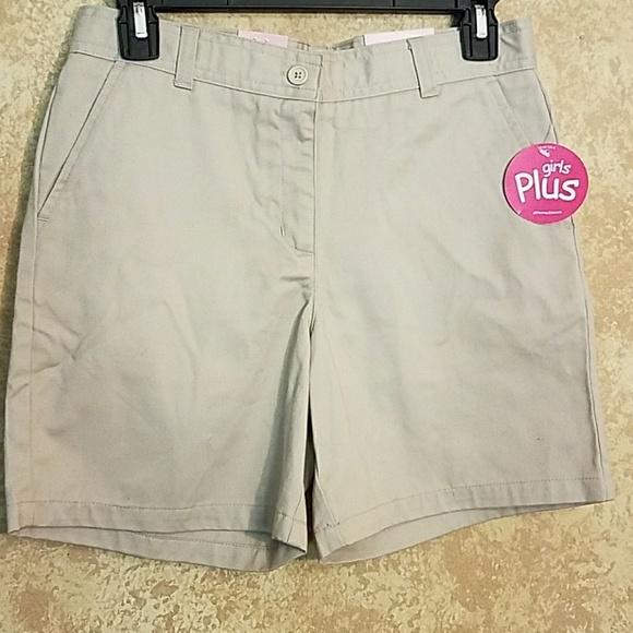 3387373574514 Izod girls school uniform shorts
